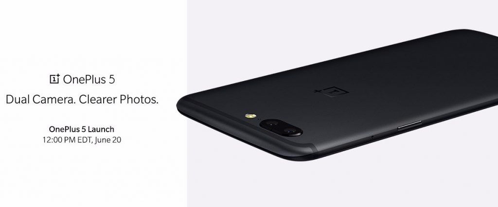 OnePlus 5 launch teaser
