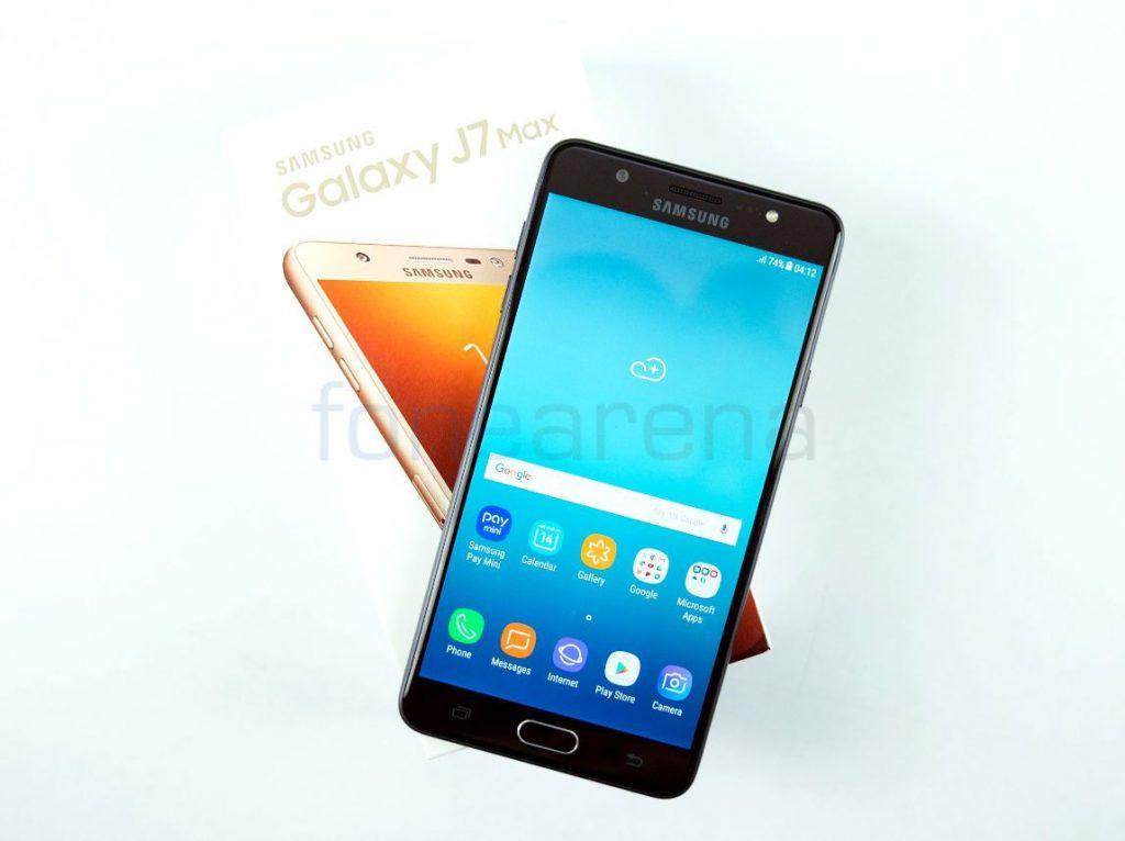 Samsung Galaxy J7 Max Unboxing
