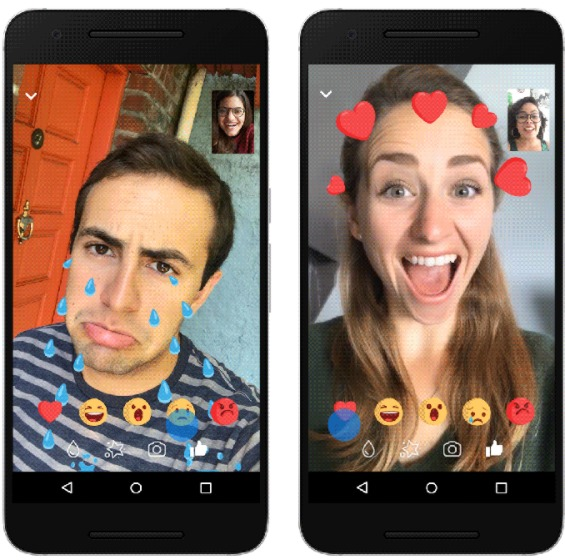 Facebook Messenger brings Snapchat like filters, masks to video chat