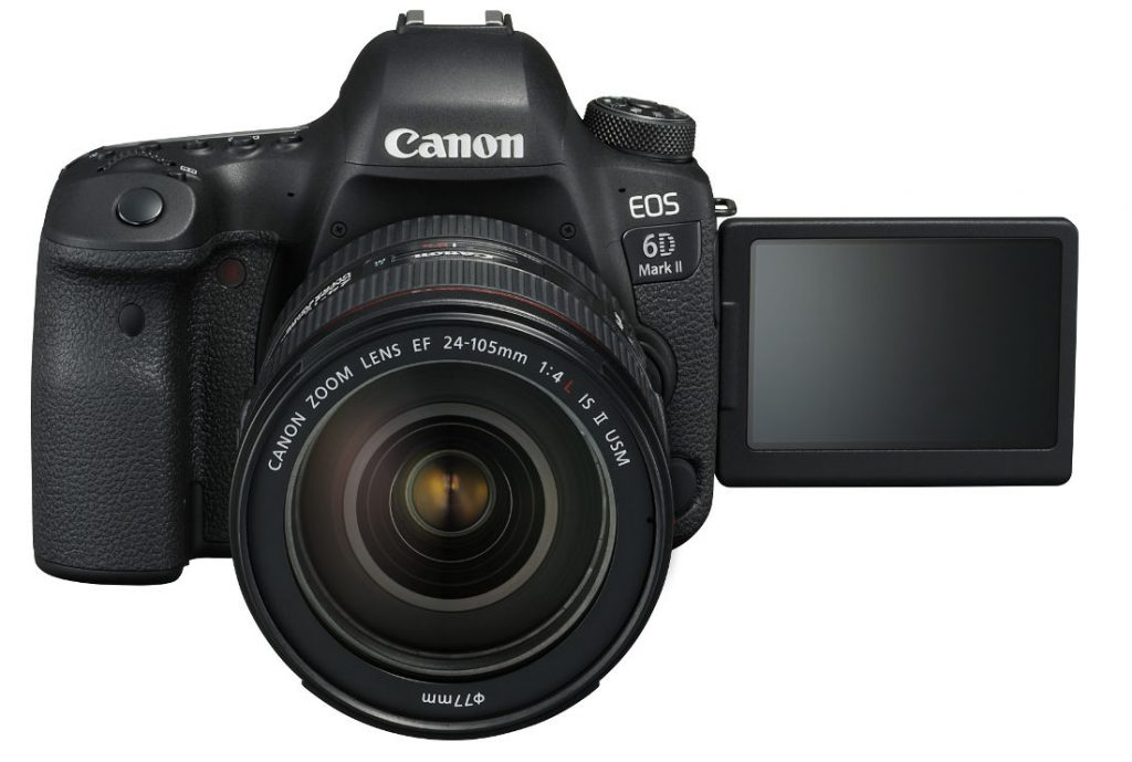 Canon EOS 6D Mark II Full-frame DSLR launched in India starting at ...