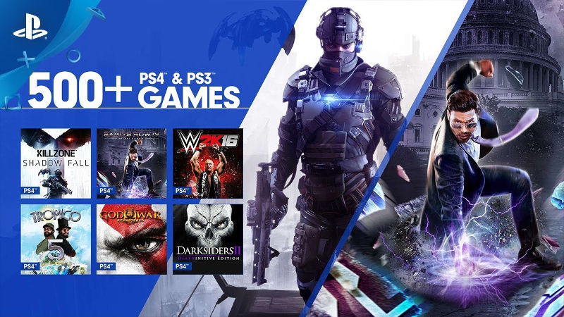 PlayStation Now Games