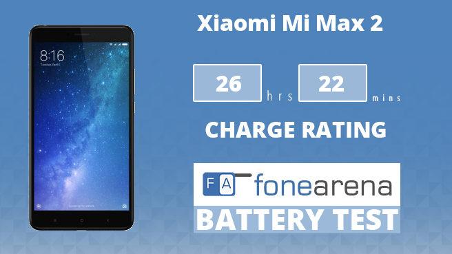 Xiaomi Mi Max 2 FA One Charge Rating