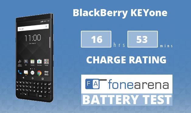 BlackBerry KEYone FA One Charge Rating