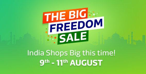 Flipkart Big Freedom Sale Aug 9 2017