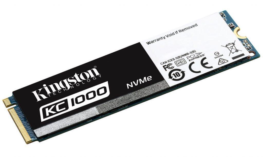 Kingston KC1000 NVMe SSD