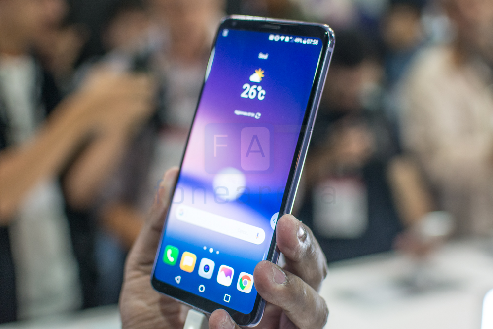 LG V30 Hands On and Photo Gallery