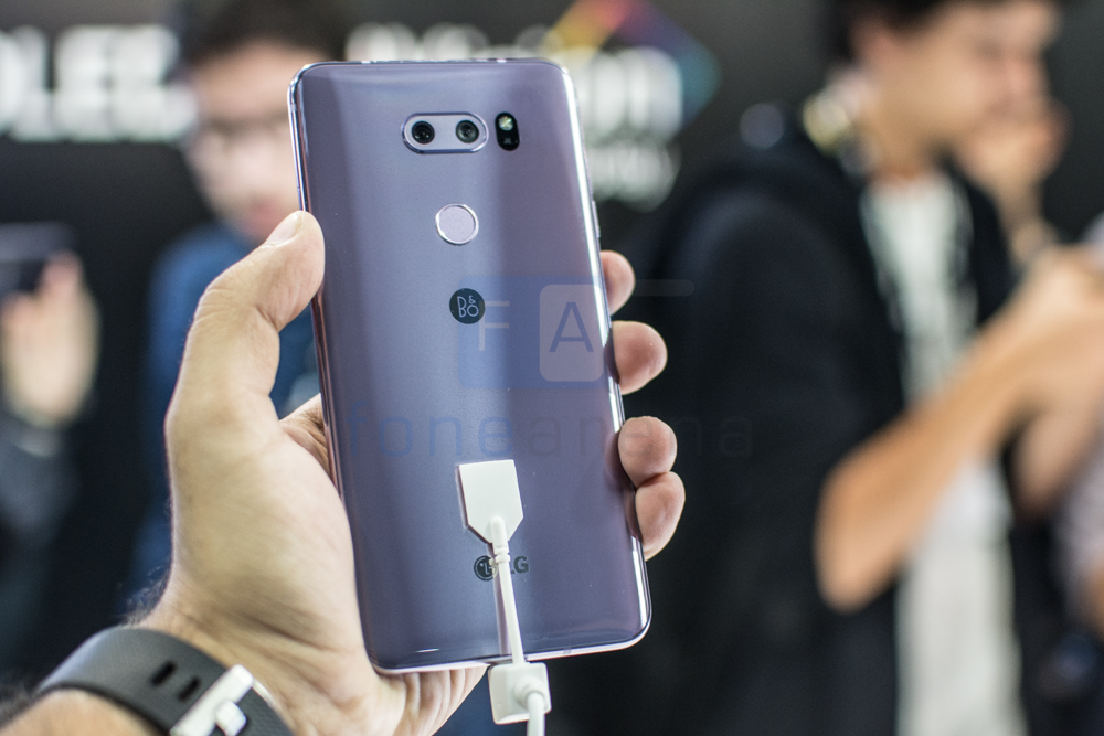 LG V30+ with 6-inch QHD+ OLED FullVision display, dual rear cameras