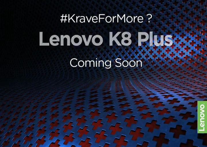 Lenovo K8 Plus teaser