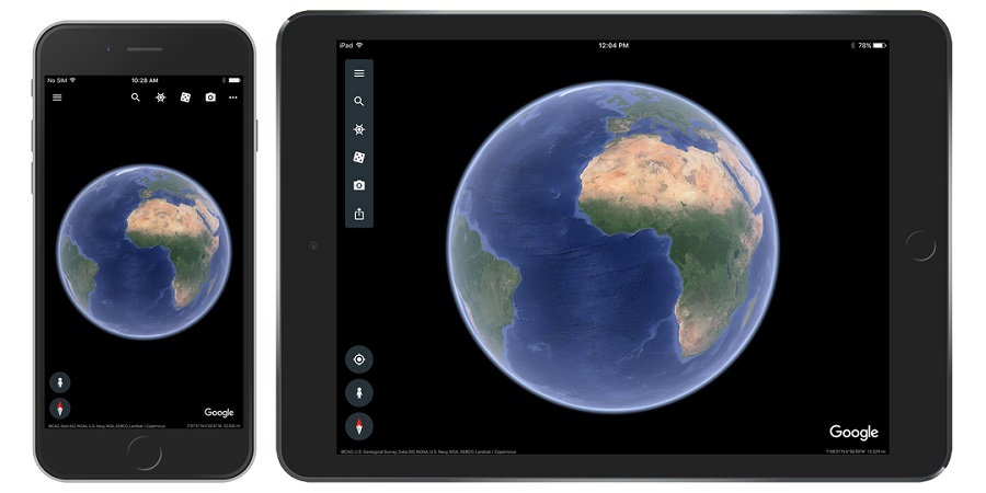 the redesigned app for iphone and ipad includes the new interactive stories feature voyager 3d maps and more