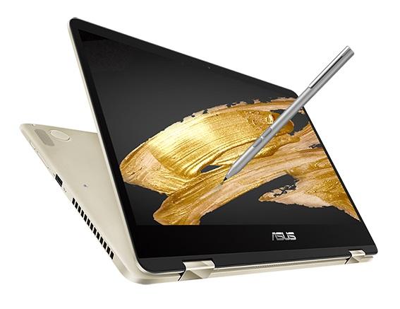 Asus ZenBook Flip 14, ZenBook Flip 15 2-in1 with NVIDIA GeForce