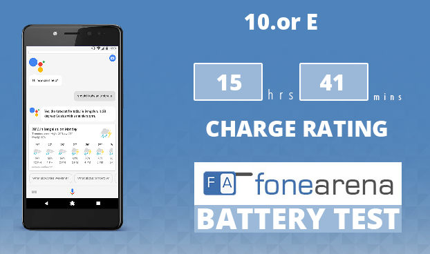 10.or E FoneArena One Charge Rating