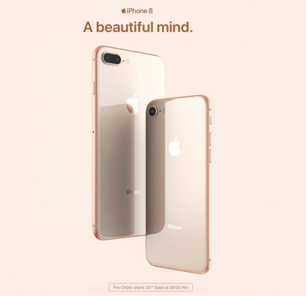 Apple iPhone 8 Flipkart pre-order Sep 22