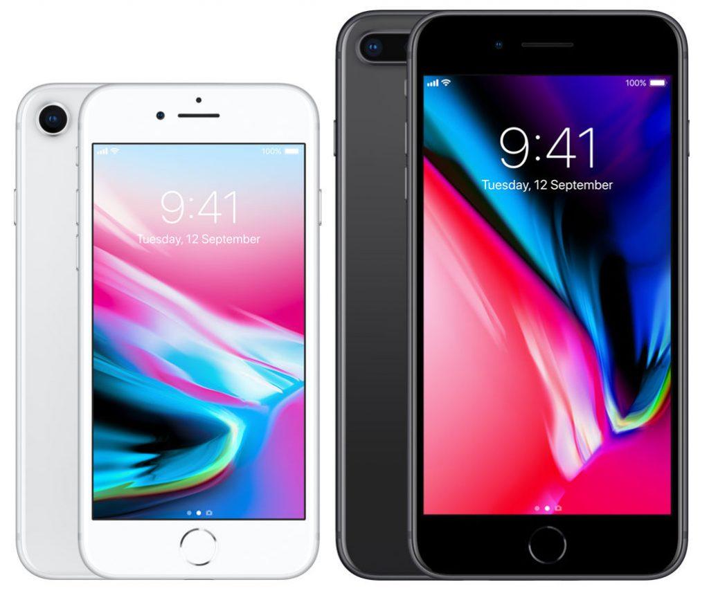Apple iPhone 8, iPhone 8 Plus