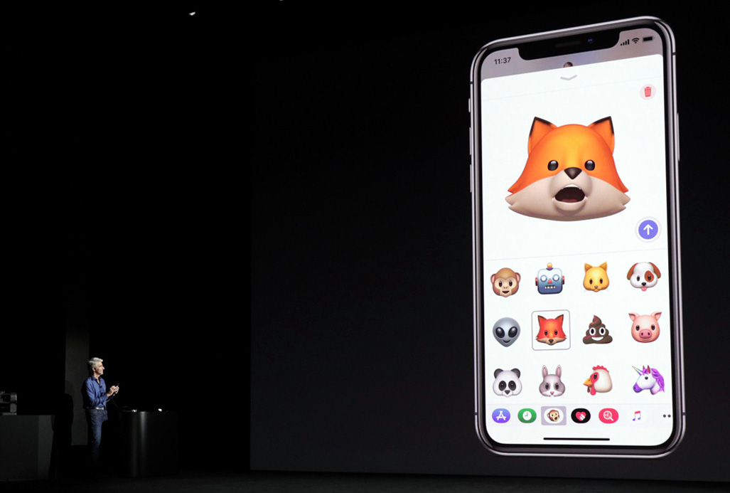 Apple iPhone X Animoji