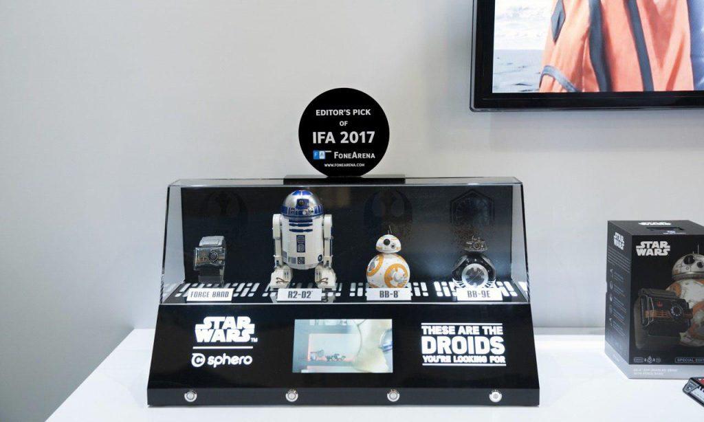 FoneArena Editor's Pick of IFA 2017 Sphero Droids-