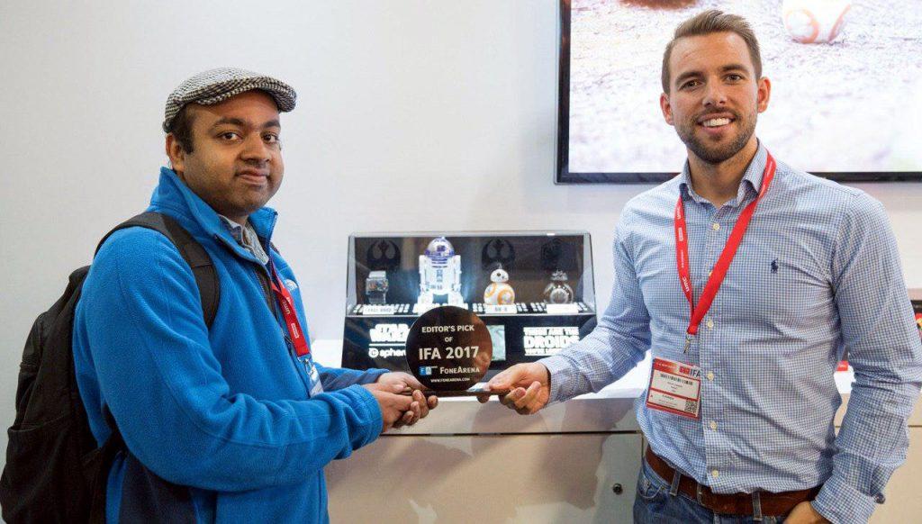 FoneArena Editor's Pick of IFA 2017 Sphero Droids