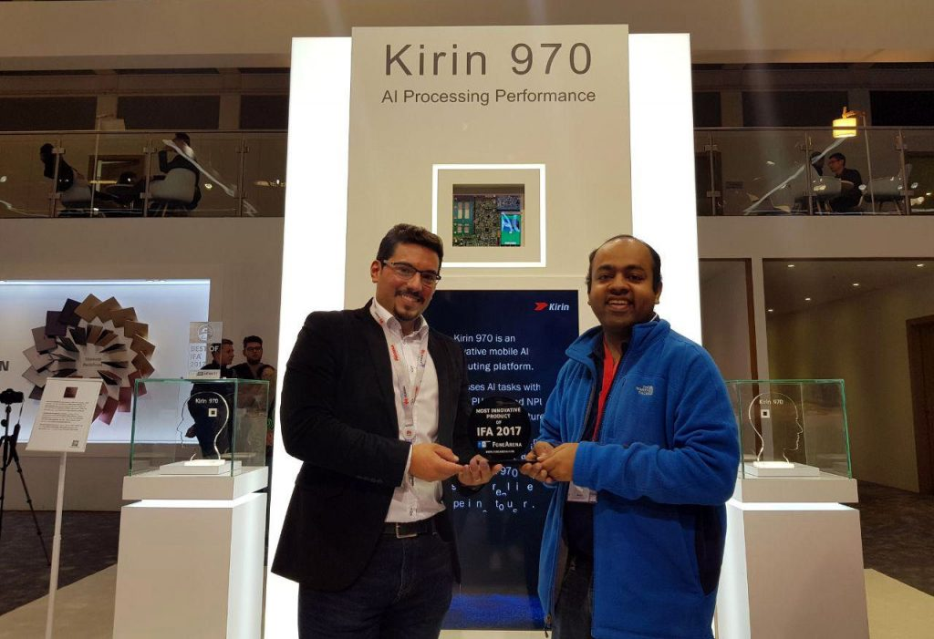 FoneArena Most Innovative Prodcut of IFA 2017 Kirin 970-