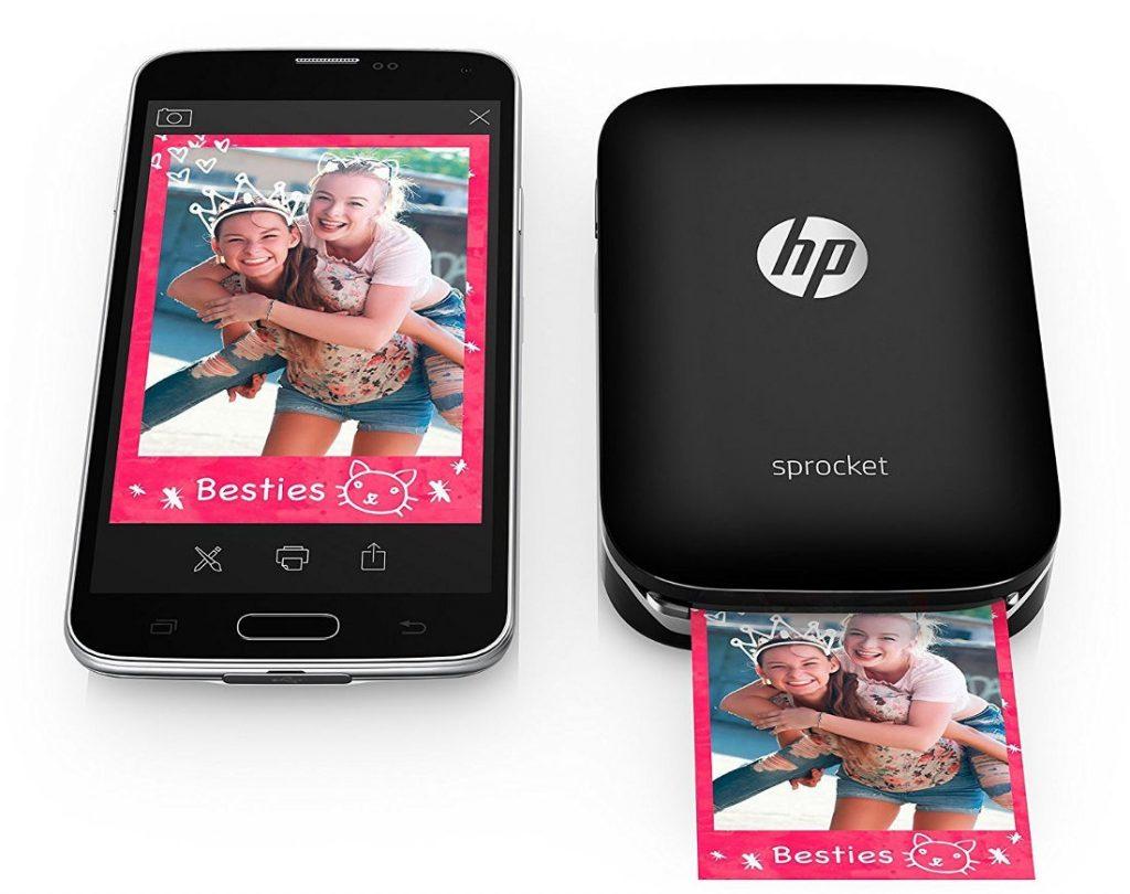 HP Sprocket pocket photo printer