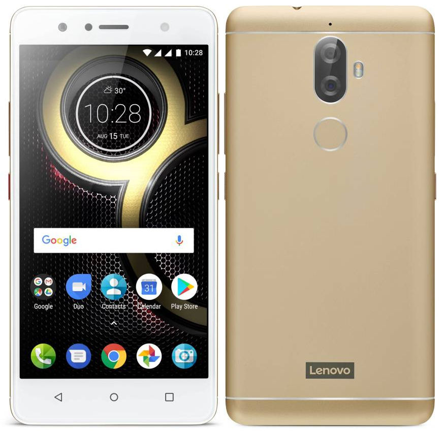 Lenovo K8 Plus with 5 2-inch 1080p display, dual rear