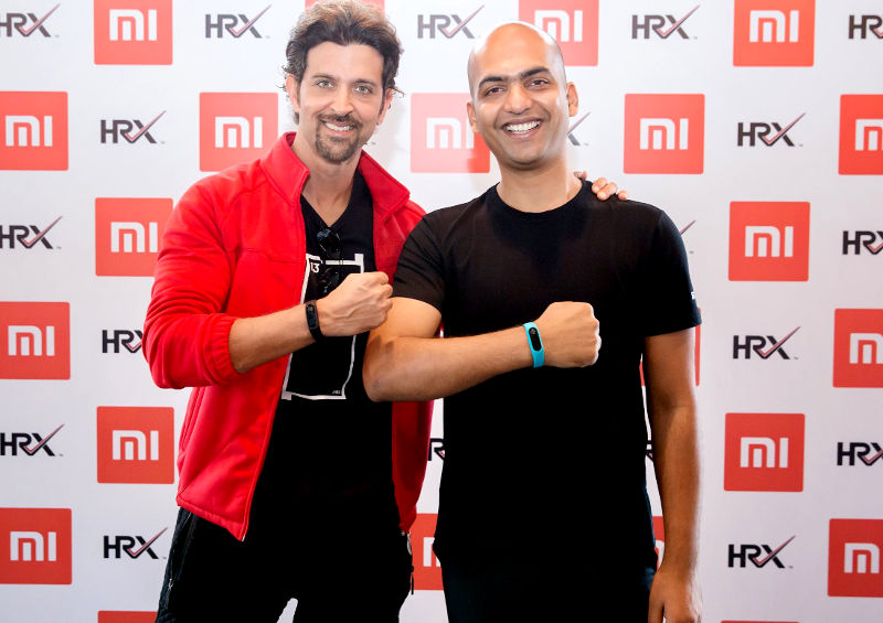Mi band HRX Edition launch