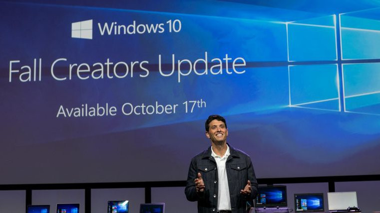 Microsoft Fall Creators Update October 17