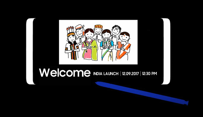 Samsung Galaxy Note 8 India launch