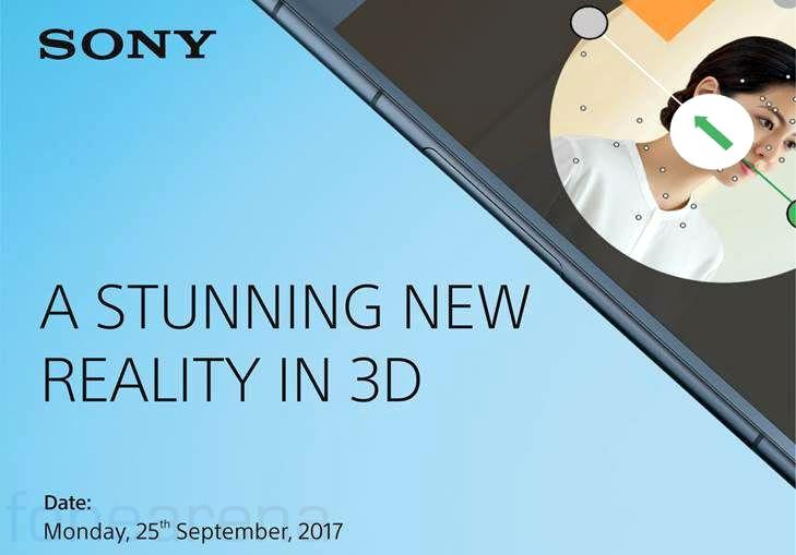 Sony Xperia XZ1 India launch invite