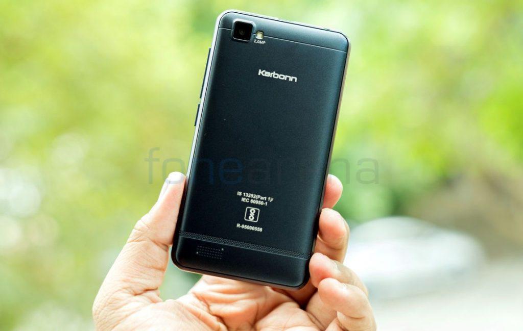 Airtel VoLTE phone Karbonn A40 Indian_fonearena-04