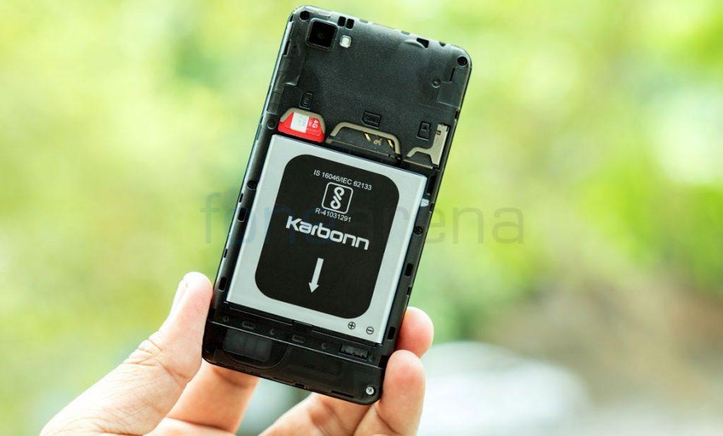 Airtel VoLTE phone Karbonn A40 Indian_fonearena-11