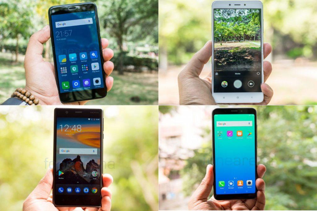 Best Android Smartphone under 10000
