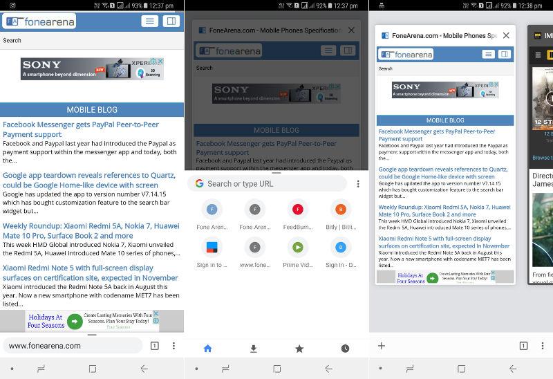 Google Chrome 62 New Home UI