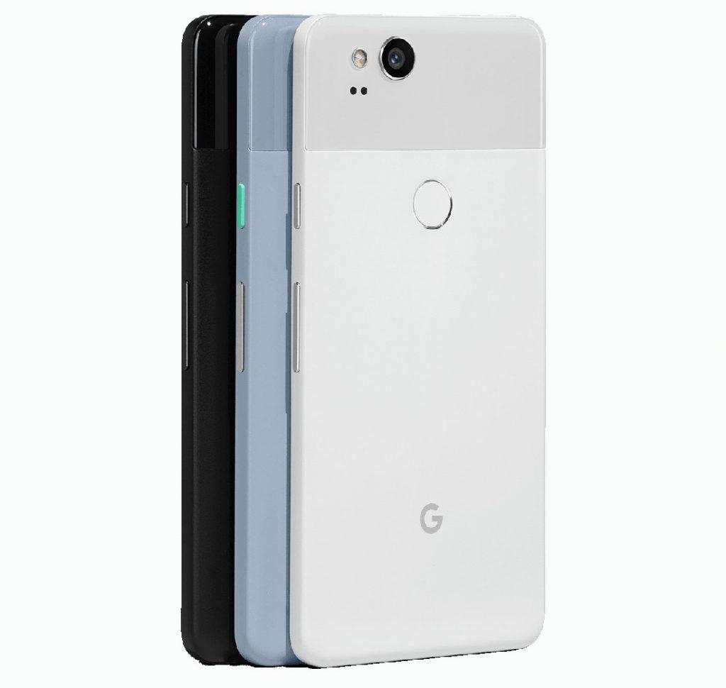 Google Pixel 2 colors