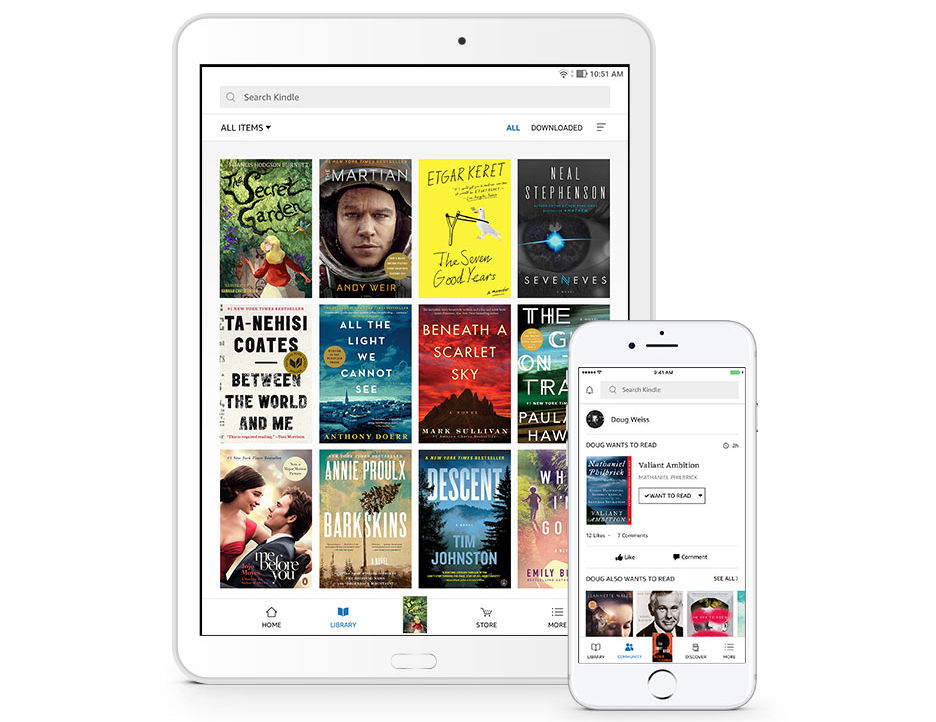 New Amazon Kindle for iOS