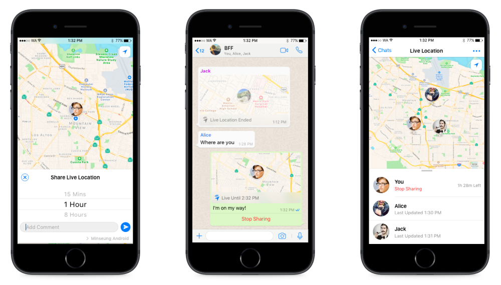 WhatsApp-Live-Location-Android