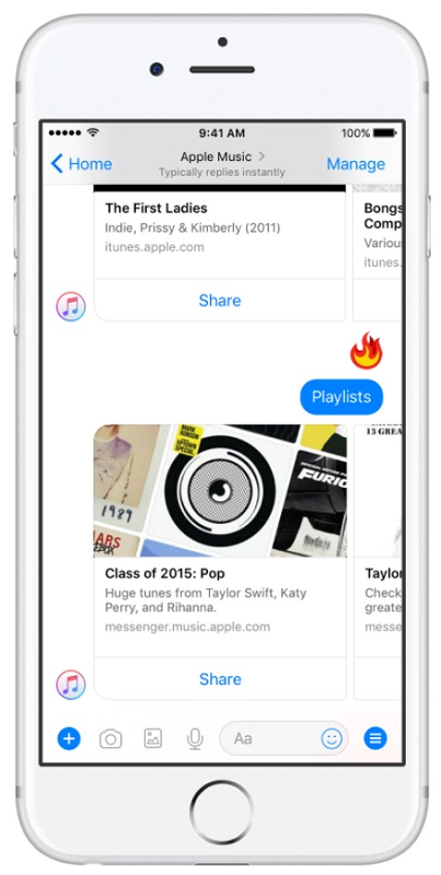apple music bot