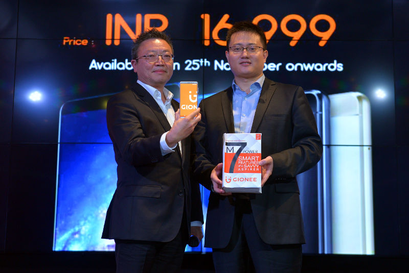 Gionee M7 Power India launch