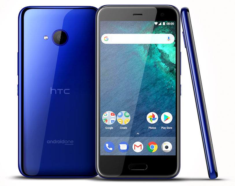 HTC U11 Life Android One phone with 5.2-inch 1080p display ...