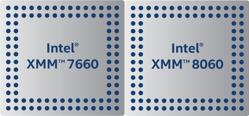 Intel 5G Modem XMM 7660 and XMM8060