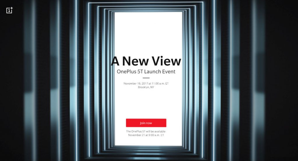 OnePlus 5T November 16 announcement