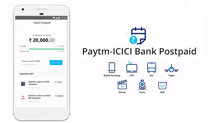 Paytm-ICICI Bank Postpaid offers instant interest-free short term credit