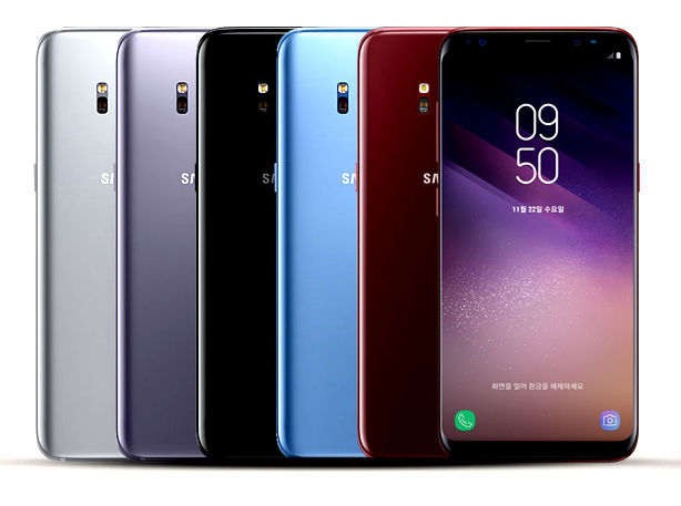 Samsung Galaxy S8 Colors