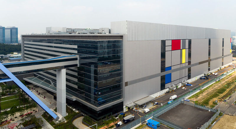 Samsung S3 manufacturing line Hwaseong Korea