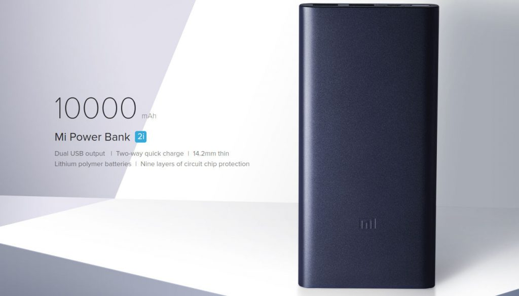 Xiaomi 10000mAh Mi Power Bank 2i