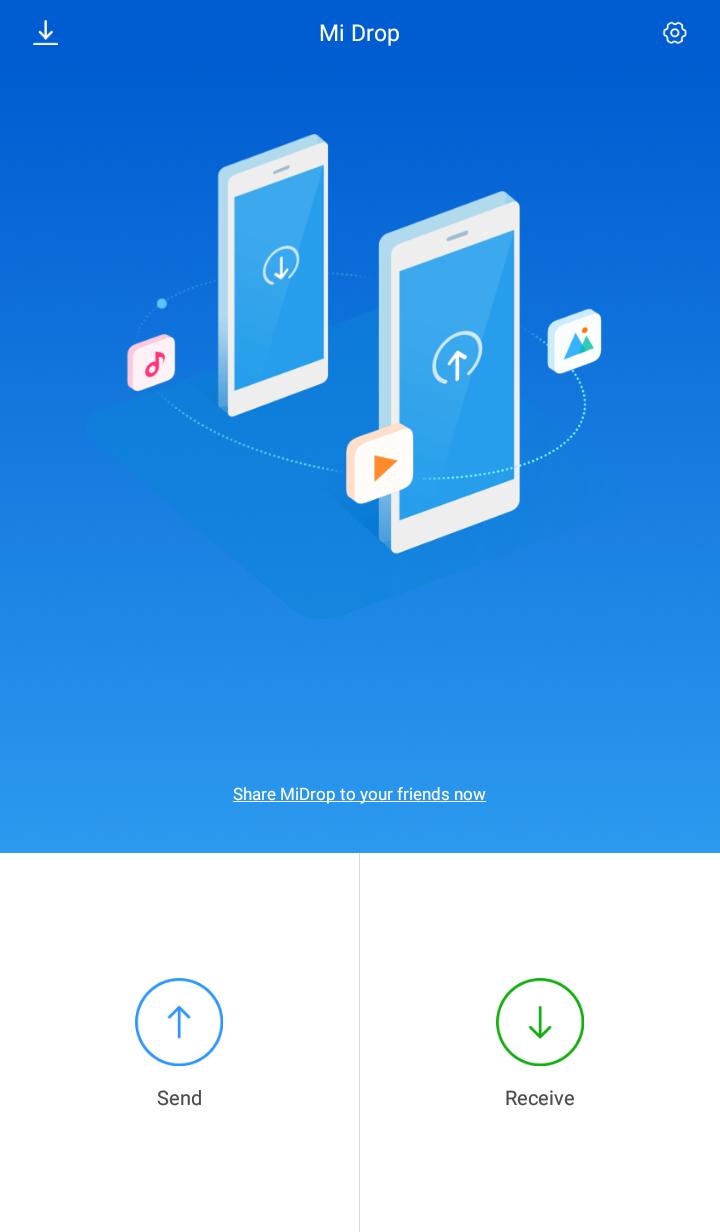 Xiaomi Mi Drop – Transfer files between Android phones