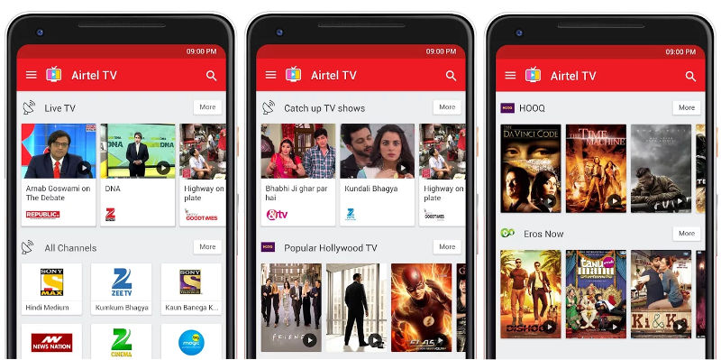 airtel tv app download for android