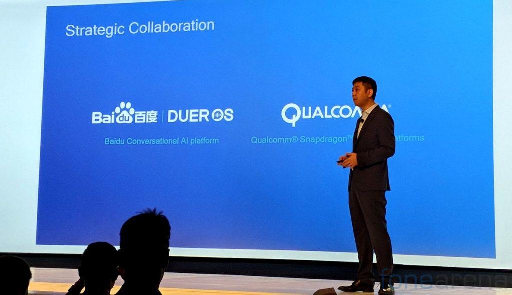 Baidu DuerOS Qualcomm Snapdragon