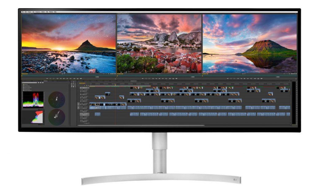 LG 34-inch UltraWide 5K monitor