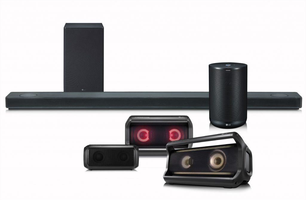 LG Audio speakers