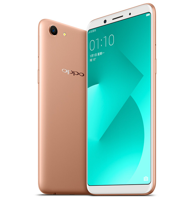 Oppo A83 With 5 7 Inch Full Screen Display 4gb Ram Face Unlock