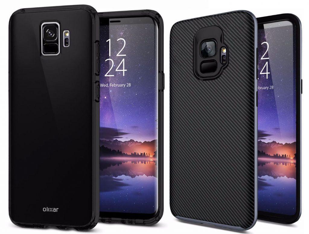 Samsung Galaxy S9 Case Render